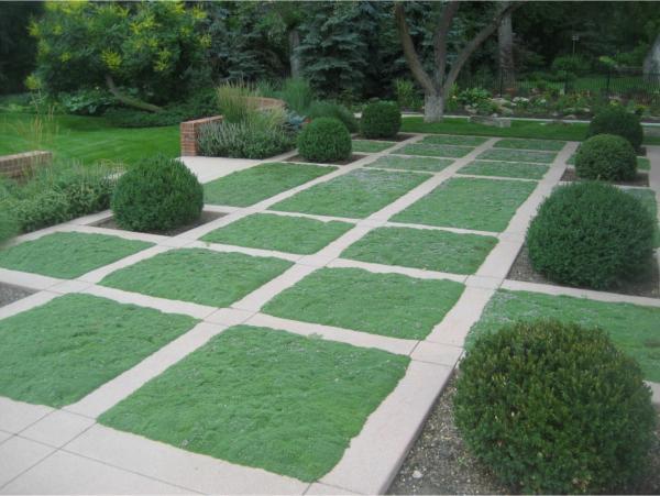 کاشی چمن برای محوطه سازی باغ ویلا