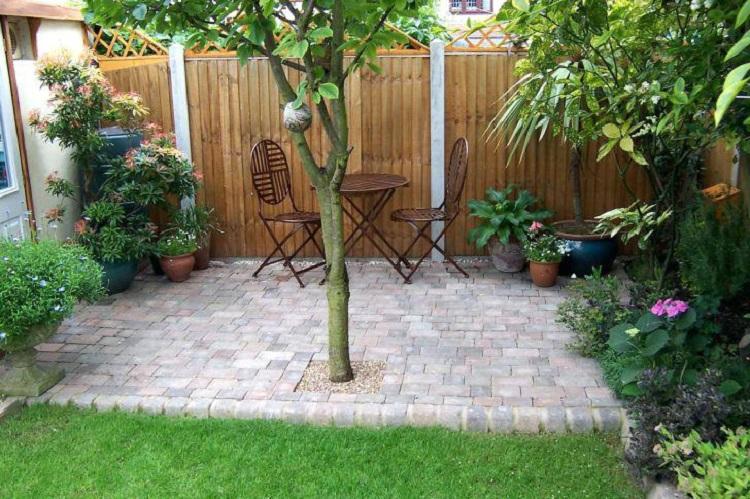 محوطه سازی برای حیاط کوچک