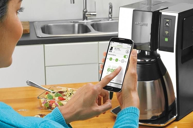 قهوه ساز هوشمند متصل به وای فای