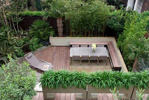 دیوار گیاهی برای محوطه سازی باغ ویلا