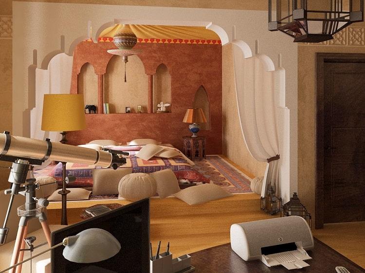دکوراسیون و اتاق خواب مراکشی