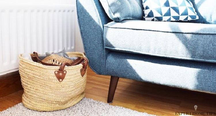 فرش یکرنگ برای خانه کوچک