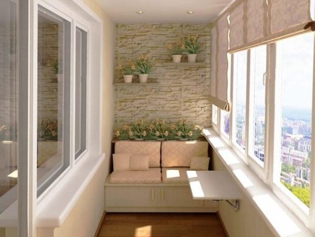 نصب پنجره و پارتیشن برای بالکن