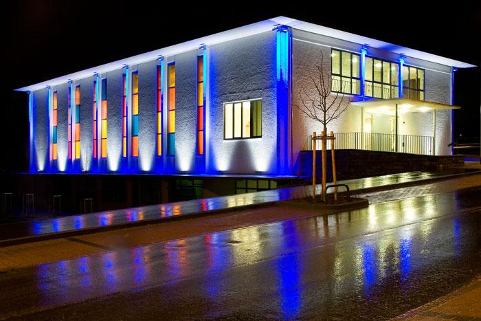 نورپردازی نما خارجی ساختمان