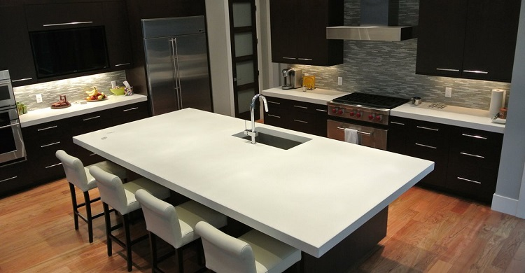 سنگ آشپزخانه سیمانی