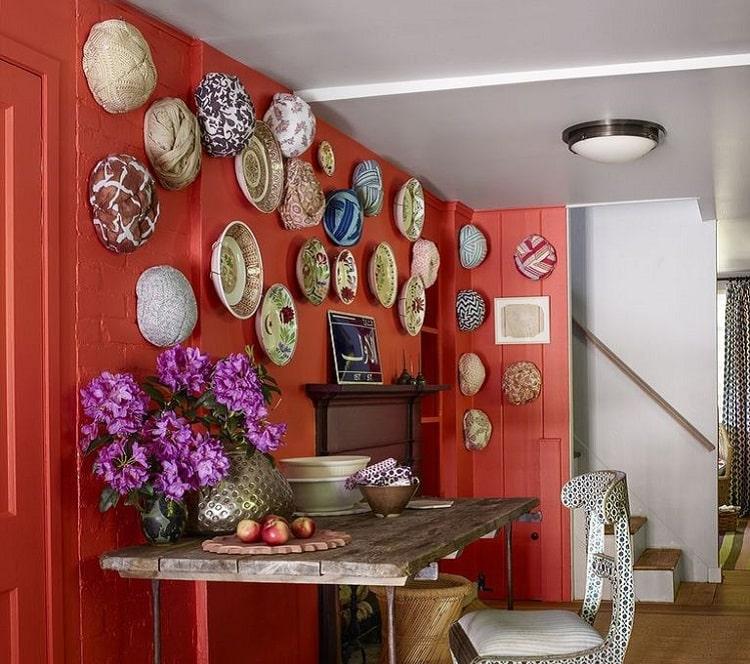 رنگ مرجانی در دکوراسیون خانه و ویلا
